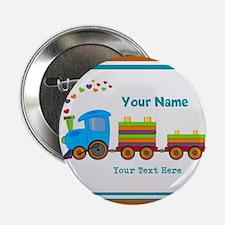 "Custom Kids Train 2.25"" Button (100 pack)"