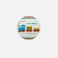 Custom Kids Train Mini Button (100 pack)