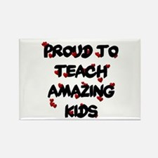 Proud to teach ALL Kids Rectangle Magnet