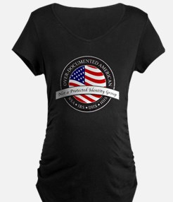 Over-Documented American la T-Shirt
