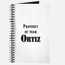 Property of Team Ortiz Journal