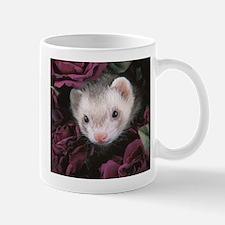 #1 Ferret Mom (flowers) - Mug