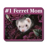 Ferret mouse Mouse Pads