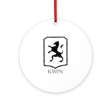 KWPN Ornament (Round)