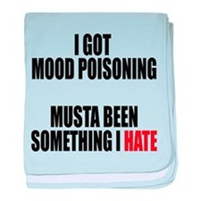 Mood Poisoning baby blanket