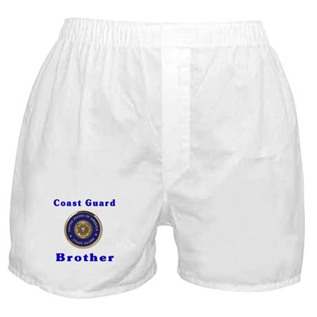 coast guard brother Boxer Shorts