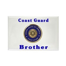 coast guard brother Rectangle Magnet