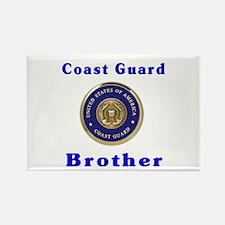 coast guard brother Rectangle Magnet