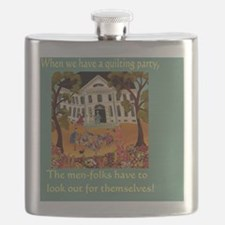 Quilting Party Flask