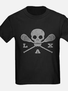 Lacrosse Lax Skull T