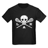 Skull and lacrosse Kids T-shirts (Dark)