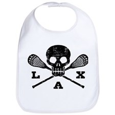 Lacrosse Lax Skull Bib
