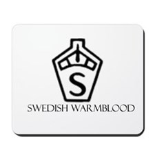 Swedish warmblood Mousepad
