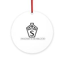 Swedish warmblood Ornament (Round)