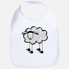Cute Cartoon Sheep Bib