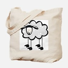 Cute Cartoon Sheep Tote Bag