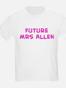 Future Mrs Allen T-Shirt