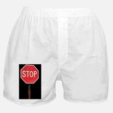 Stop sign Boxer Shorts