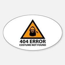 404 Error : Costume Not Found Decal