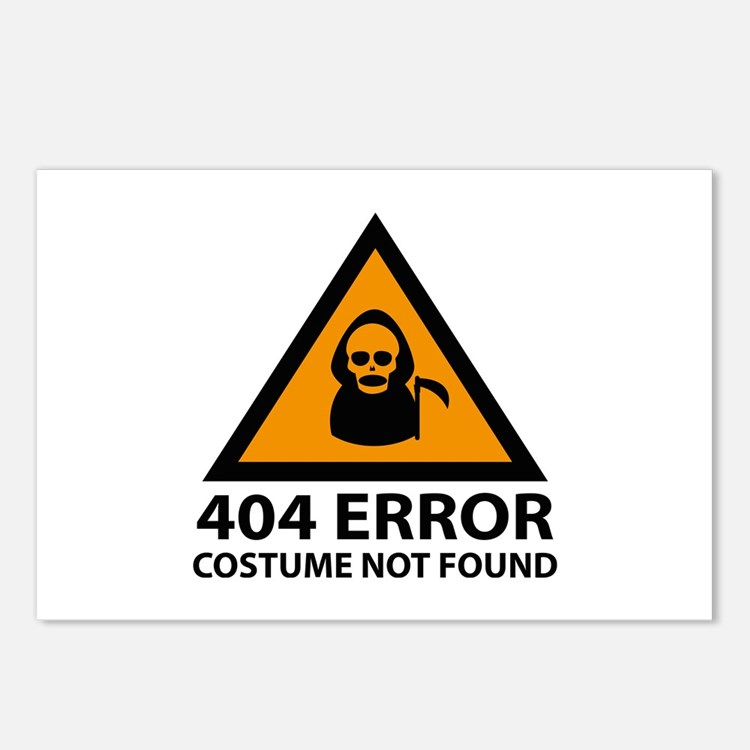 404 Not Found: Cheap Post Card Design Template