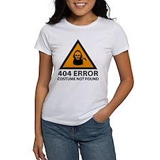 404 Error : Costume Not Found Tee