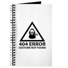 404 Error : Costume Not Found Journal