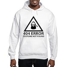 404 Error : Costume Not Found Hoodie
