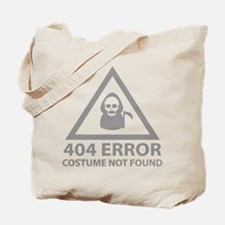 404 Error : Costume Not Found Tote Bag