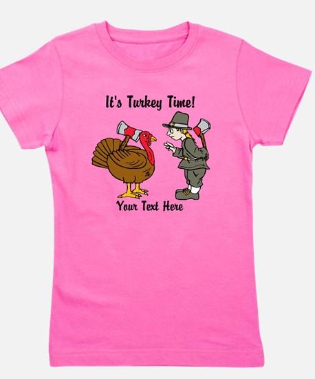 Funny Thanksgiving Girl's Tee