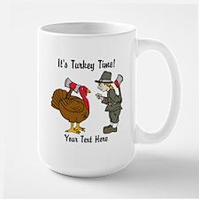 Funny Thanksgiving Large Mug