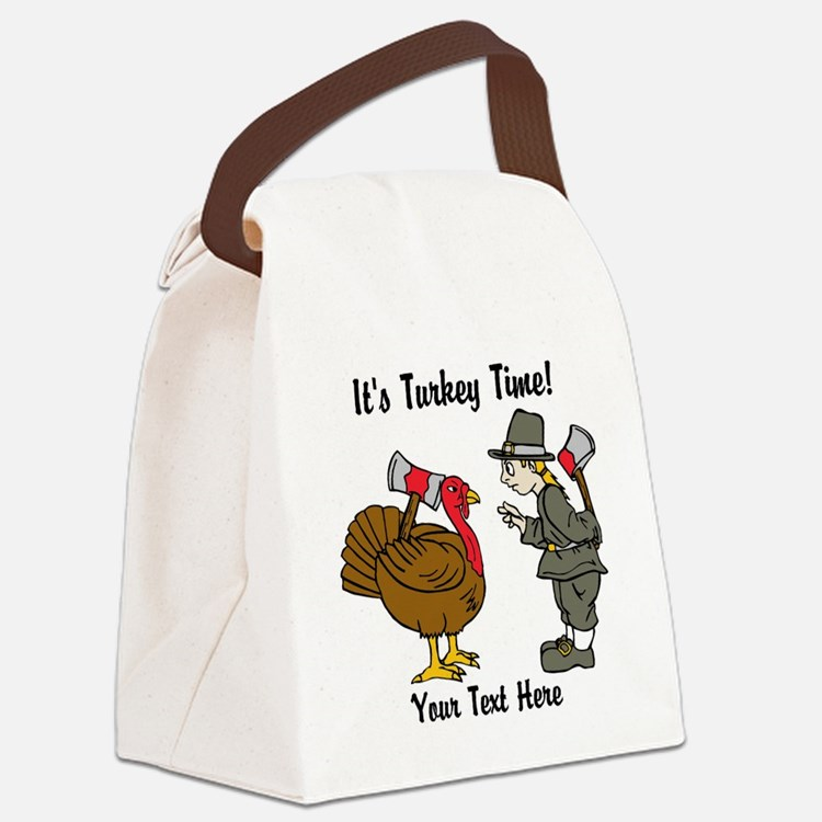 Funny Thanksgiving Canvas Lunch Bag