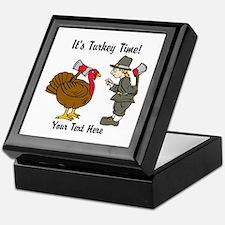 Funny Thanksgiving Keepsake Box