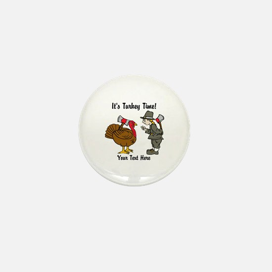 Funny Thanksgiving Mini Button (10 pack)