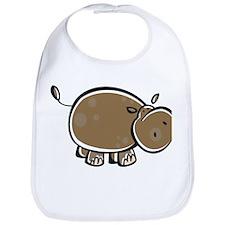 Cute Cartoon Hippo Bib