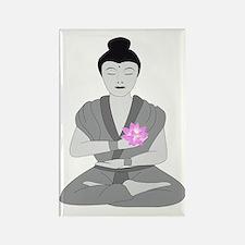 Buddha Style Rectangle Magnet