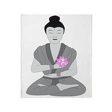 Buddha Style Throw Blanket
