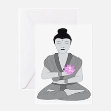 Buddha Style Greeting Card