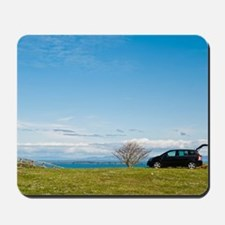 Countryside holiday Mousepad