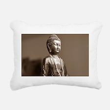 Buddha Style Rectangular Canvas Pillow