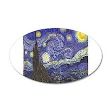 Van Gogh Starry Night Wall Decal