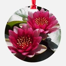 Red Lotus Flower Ornament