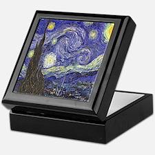 Van Gogh Starry Night Keepsake Box