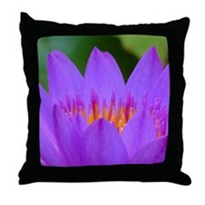 Lotus Flower Throw Pillow