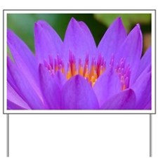 Lotus Flower Yard Sign