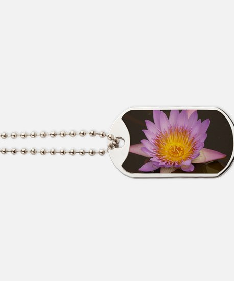 Lotus Flower Dog Tags