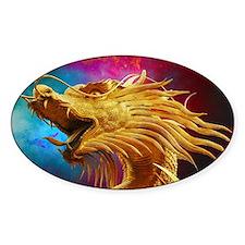 Golden Dragon Decal