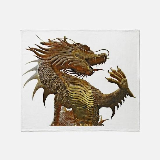 Dragon Style Throw Blanket