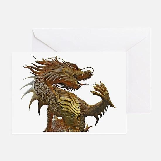 Dragon Style Greeting Card