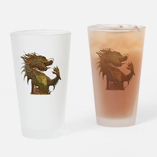 Dragon Style Drinking Glass