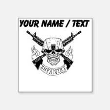 Custom Military Infantry Skull Sticker